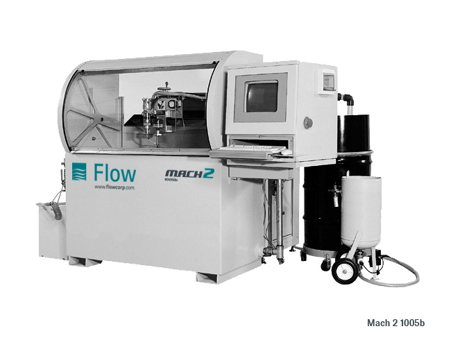 MACH 2B WATERJET MODELS | Gladwin Machinery
